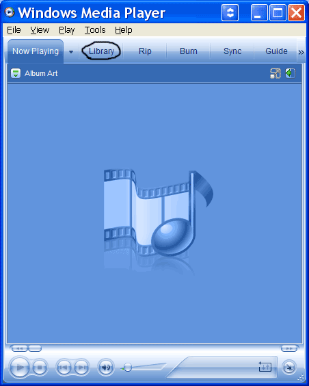 how to delete windows media player library