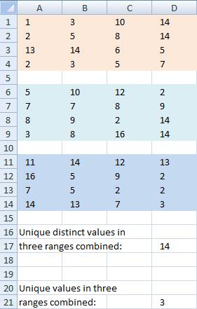 unique-distinct-values-in-three-ranges-combined