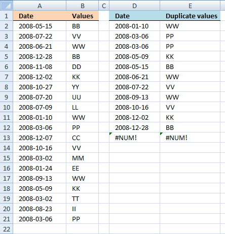 How to sort by date in excel in Brisbane
