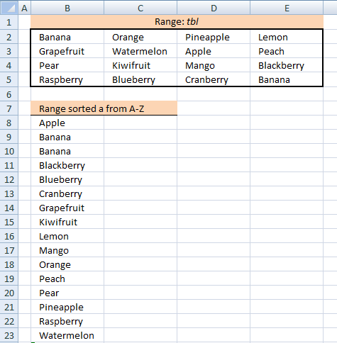 excel array formula