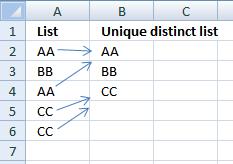 Unique-distinct-list1
