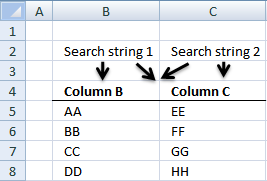 Lookup with multiple criteria2