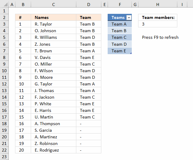 random number generator from 1-300