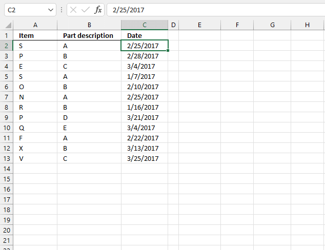 Lookup and return multiple dates concatenated into one cell based on a cell range UDF worksheet 1
