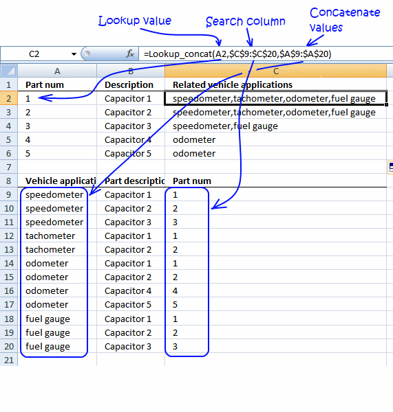 excel find multiple values in single cell I have a sheet in excel that how to extract max values from multiple rows from this i would need to extract in one cell that number of max per-row values.