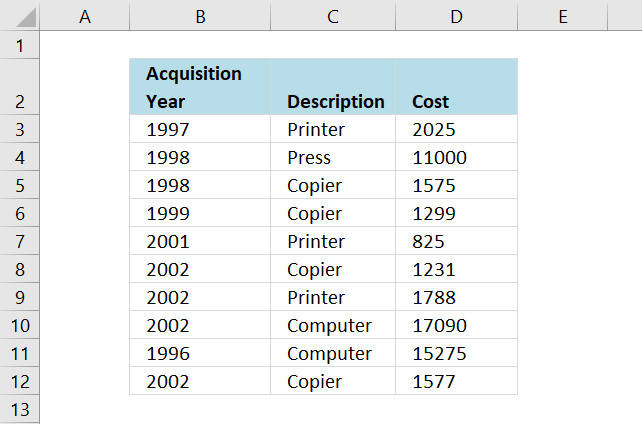 use drop down lists to compare data series in an excel