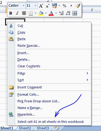 excel 2007 assign shortcut keys
