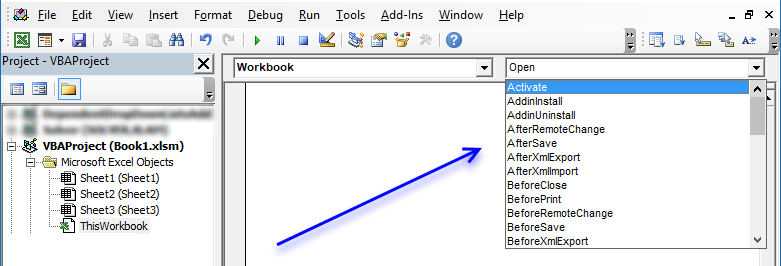 Select cell A1 on all sheets before you close a workbook [VBA]