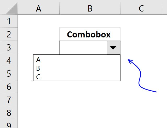 Populate a combo box (form control) [VBA]