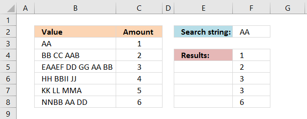 Search for a text string and return multiple adjacent values