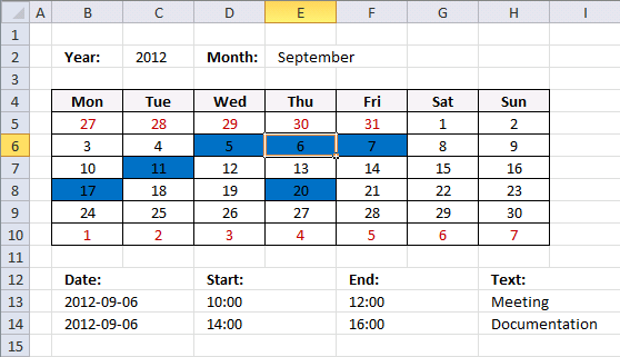 Calendar-event-finish