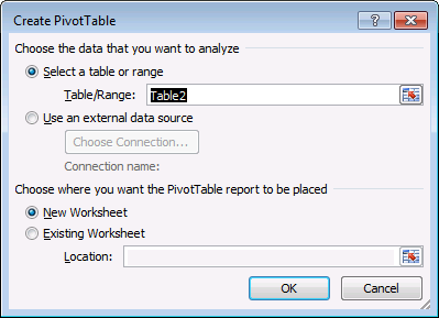 Merge two related tables before creating a pivot table3