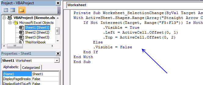 Move a shape vba – Getting into Shapes Worksheet