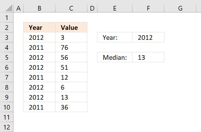 Función IF trabajando con matrices