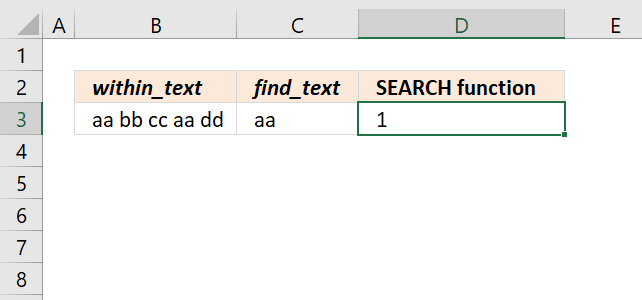 SEARCH function count strings