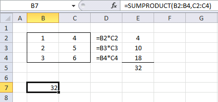 SUMPRODUCT function1