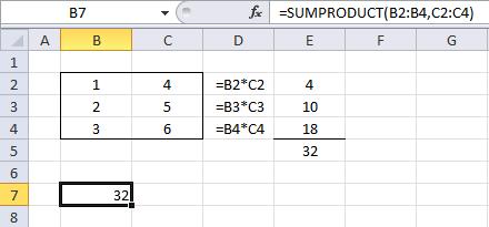 Función SUMPRODUCT1