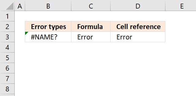 IFERROR name error