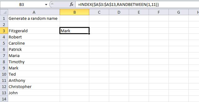 generate random names