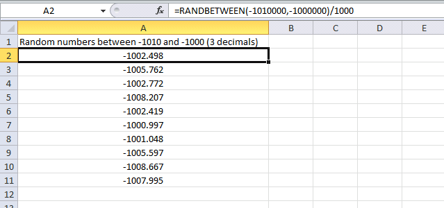 How to generate random numbers and text