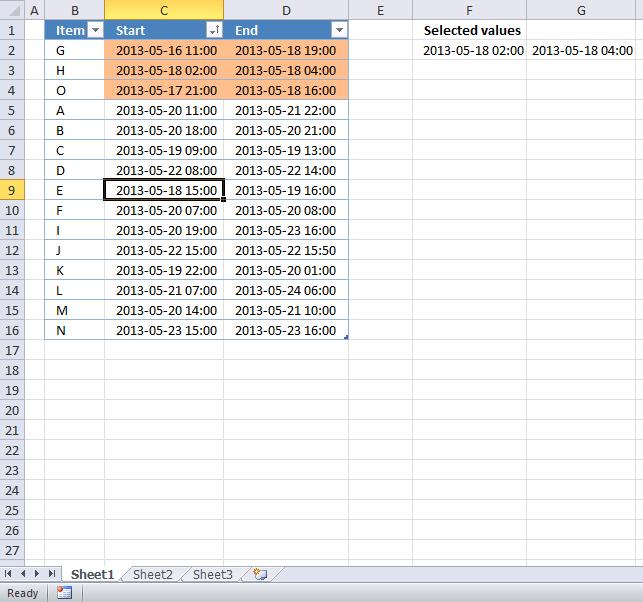 highlight overlapping date ranges (vba)2