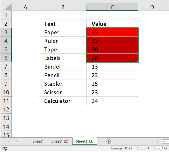 Count cells based on Conditional formatting previous excel versions4