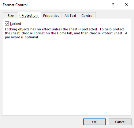 Scroll bar dialog box protection