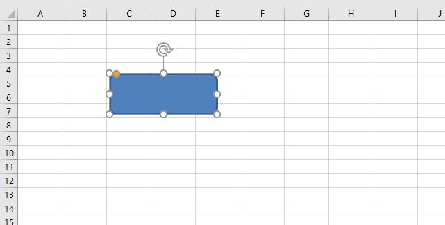 Show hide a picture select shape