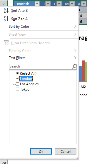 Quickly change data source Filter Excel Table