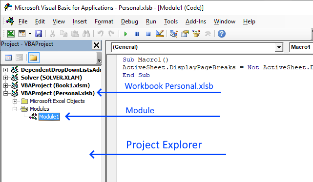 Add VBA code to file
