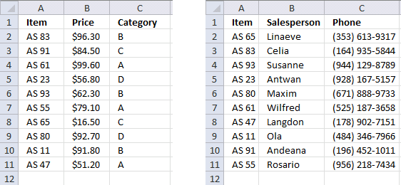Merge lists with criteria