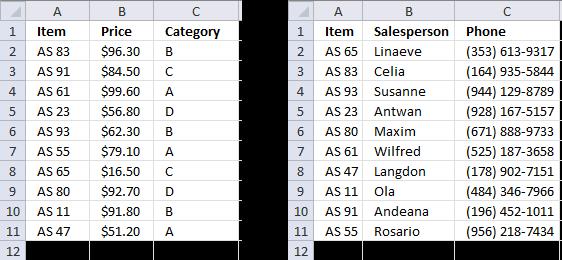Merge lists with criteria