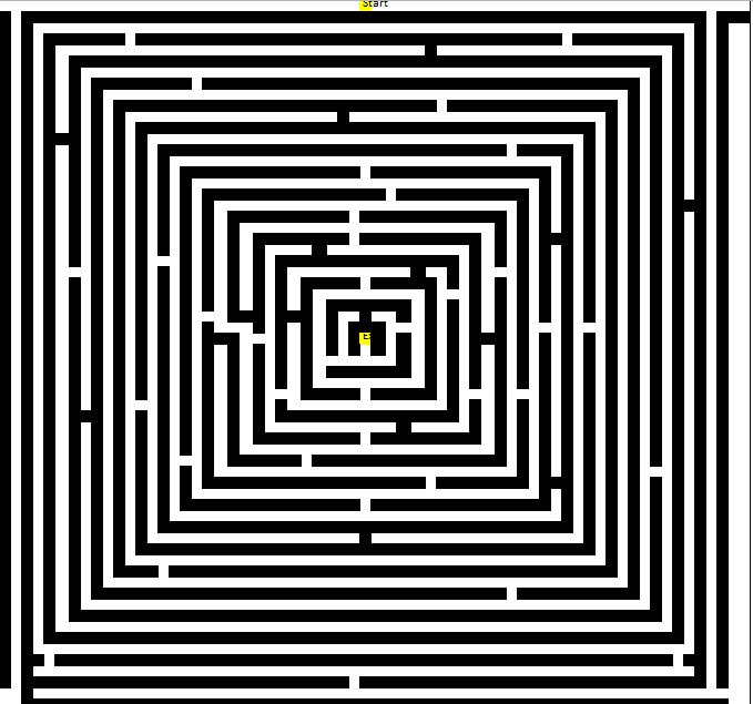 maze - large grid