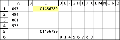 find and sort numbers1 - excel