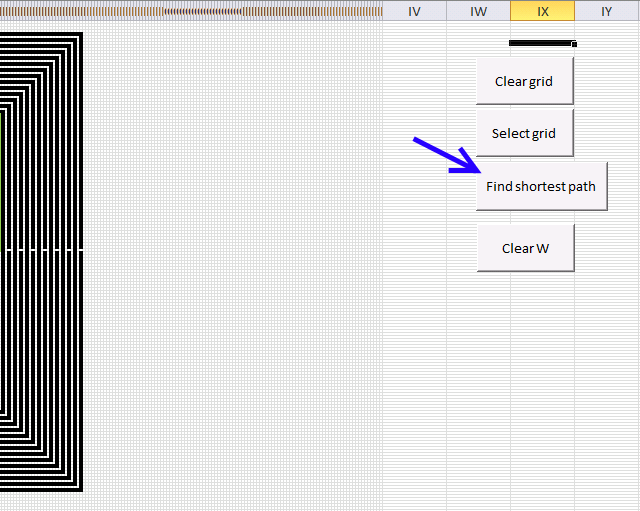 path optimization buttons