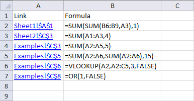 Find hard coded values in a workbook