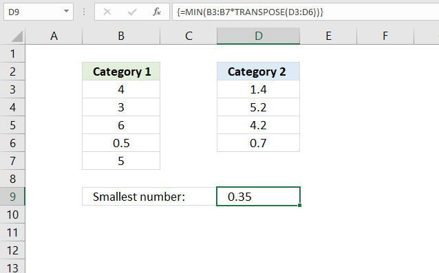 A beginners guide to Excel array formulas 1