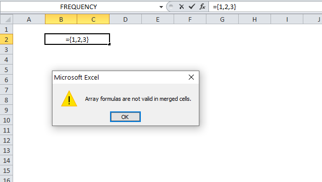 A beginners guide to Excel array formulas enter array formula in merged cells