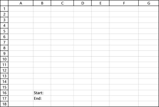stock chart - dynamic date range
