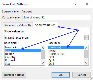 pivot table - analyze2