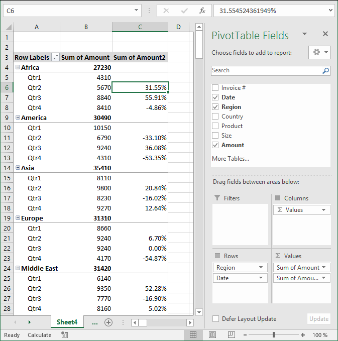 pivot table - analyze3