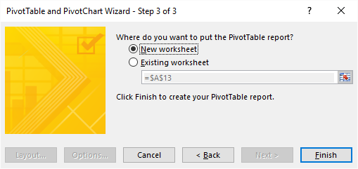 pivot table - wizard3