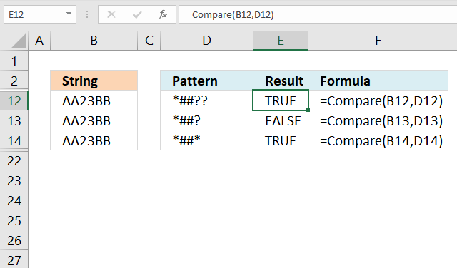 LIKE operator combining pattern characters
