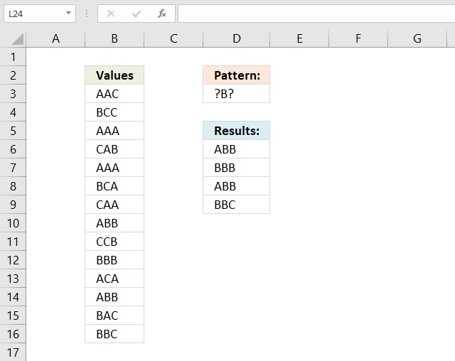 Search for a regex pattern in column and get matching values