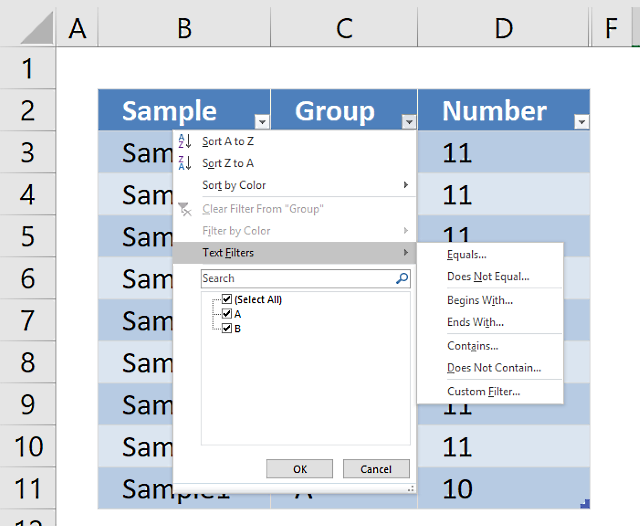 Become more productive – Learn Excel Defined Tables
