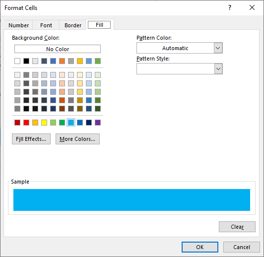 SUM function by color format cells