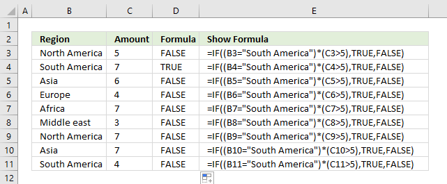 IF with AND function – multiple conditions