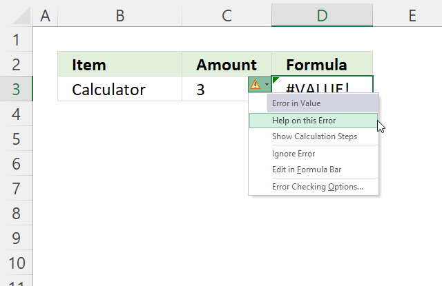 OR function help on this error