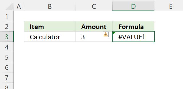 OR function value error