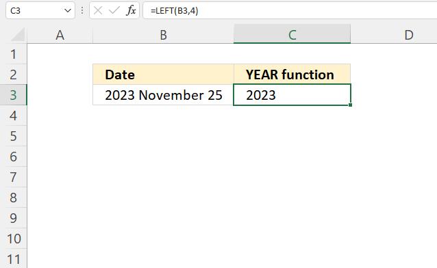 YEAR function VALUE error1